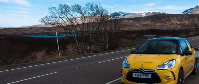 Mietauto in Schottland