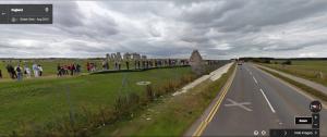 Die Straße direkt vor Stonehenge wurde abgerissen. (Foto: Google Street View)