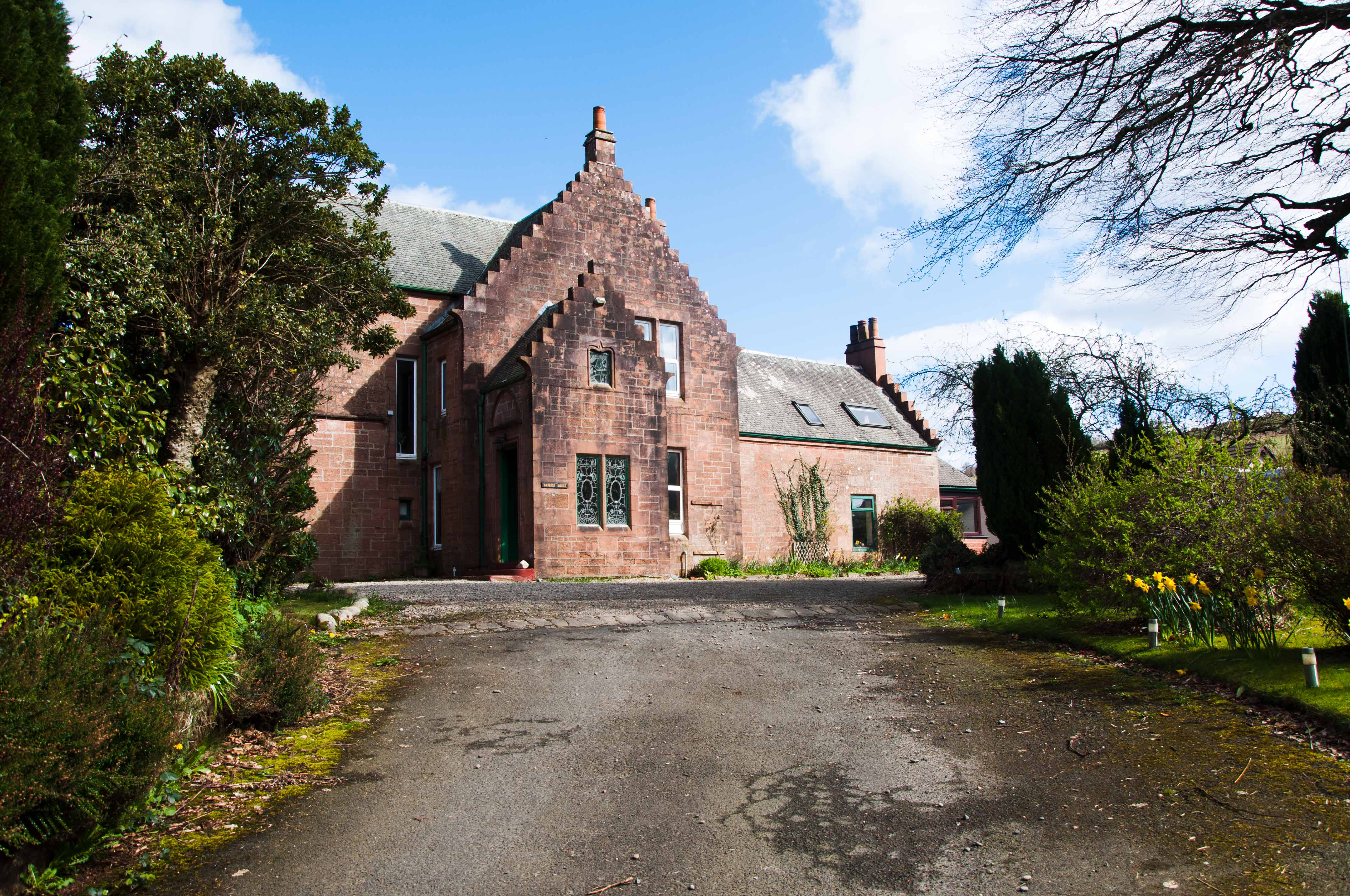 Carrick Lodge auf der Isle of Arran in Schottland