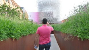Britischer Pavillon auf der Expo in Mailand