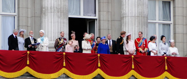 Die Royal Family - Buckingham Palace - London