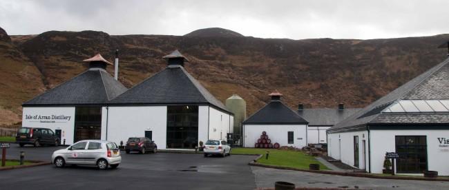 Arran Distillery - Schottland