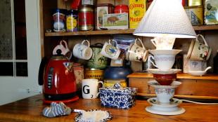 Tea Room in Ely -England