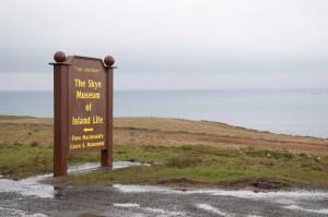 Das Museum ist direkt an der Küste.