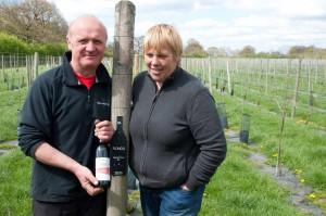 Noch ist der Weinbau eher ein Hobby. Aber die Familie Spakouskas ist zuversichtlich den Weinbau in Nordengland fest verankern zu können.