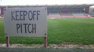 Fußballstadion in Schottland