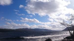 Auf dem Weg zum Stadion befand sich Loch Ness.