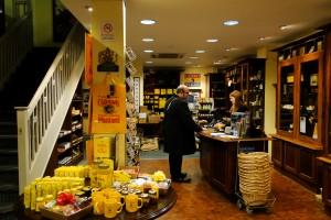 Colman's Mustard Shop Innenansicht
