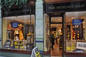 Außenansicht Colman's Mustard Shop