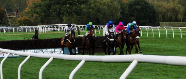 Pferderennen in Fakenham