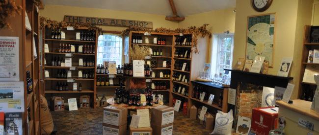 Zu Besuch im Real Ale Shop