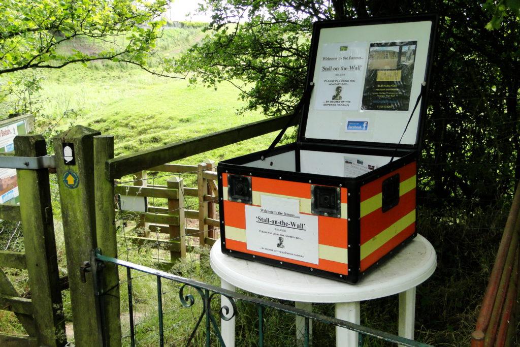 Honesty Box in Cumbria